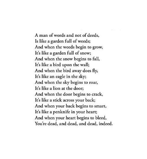 My favorite poem | Confusing and bedazzling | Pinterest | Words ...