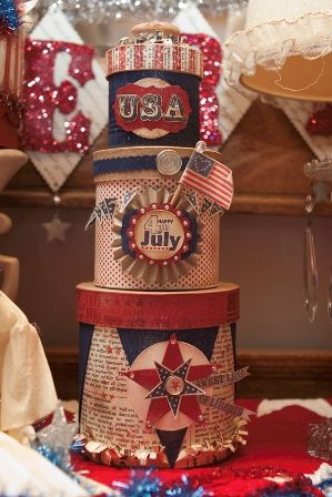 july 4: Picture, 4Th Garland, Cute Ideas, Happy Fourth, 4Th Of July, Diy Craft, Happy 4Th