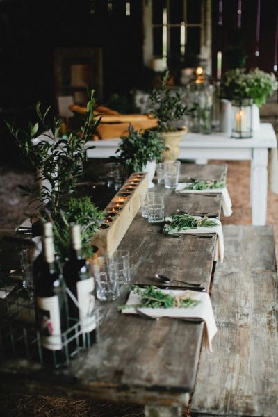Rustic french country tablescape | Photography by kristynhogan