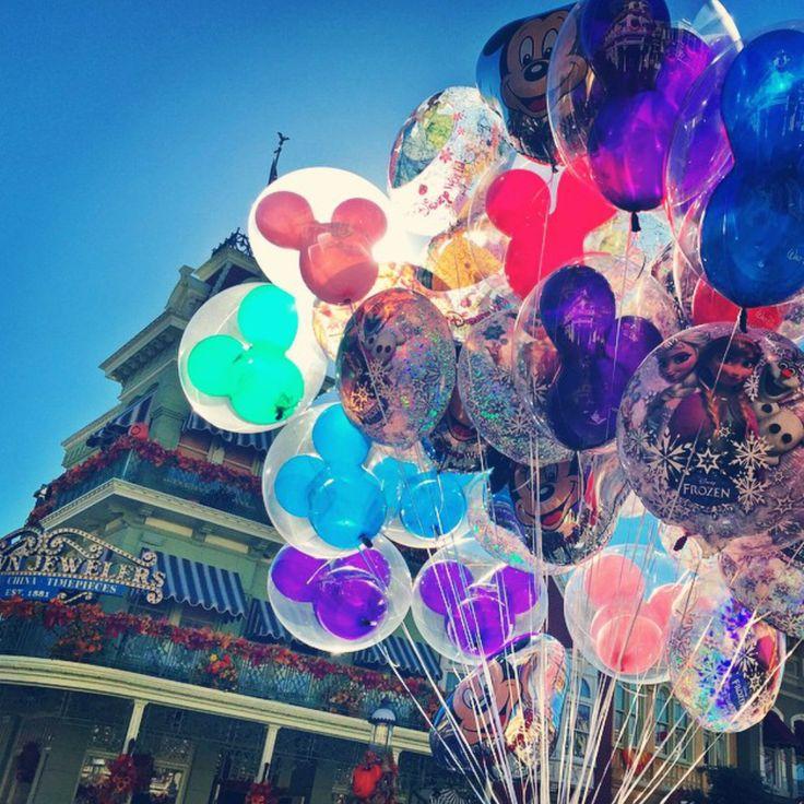"disneydips: ""Disney Balloons """