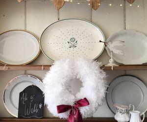 snow white fluffy wreath, crafts, wreaths