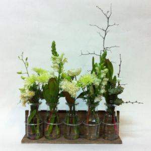 Smellies Florist Geelong - Bottled Flower Rack..