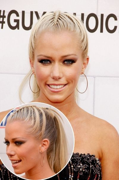 Braided Ponytail Hairstyle Kendra Wilkinson