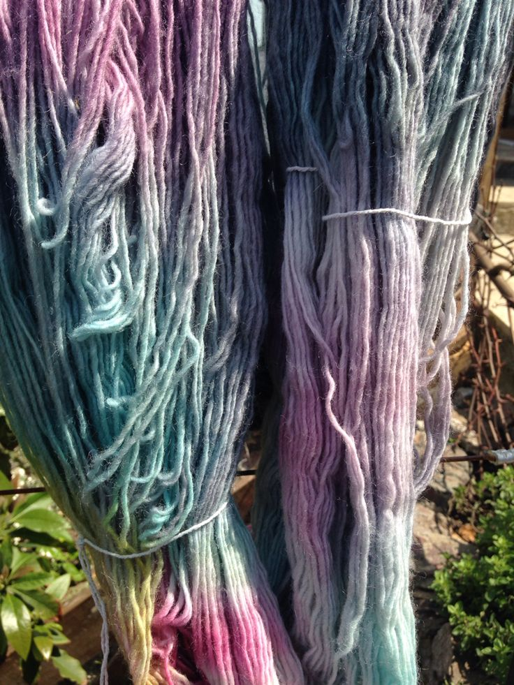 #wool #dyed #handmade #beautiful #nature
