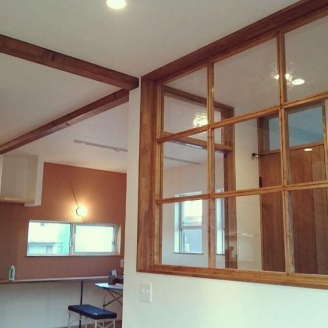 新築/室内窓…などのインテリア実例 - 2015-11-07 21:45:17 | RoomClip(ルームクリップ)