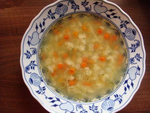 Zeleninová polévka s obláčkama - Powered by @ultimaterecipe