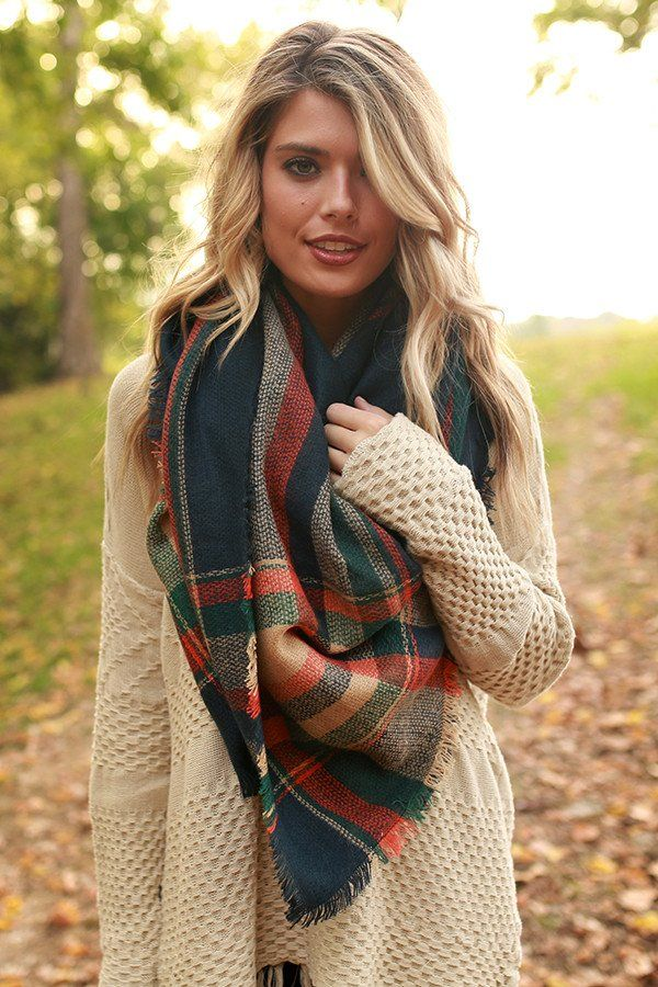 Scarf styles like this make for the perfect outfit for fall and winter!