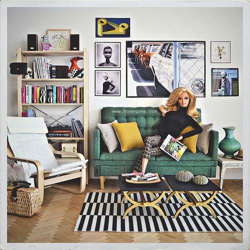 Relax at home. Citrus Obsession Barbie. | Sandra (Bonequea) | Flickr