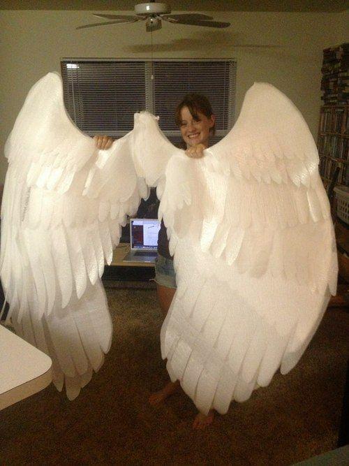 The Process of the Wings | Diy angel wings, Angel wings ...