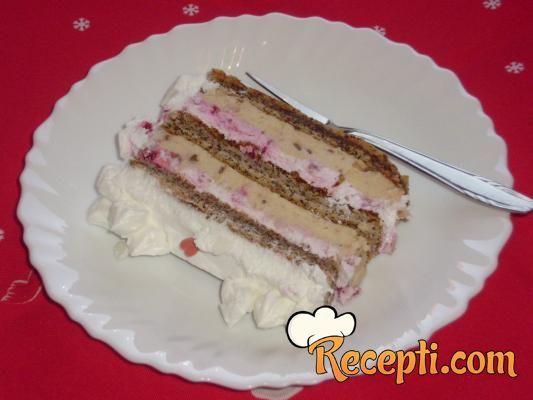 Torta sa malinama i neskvik čokoladom - Recepti.com