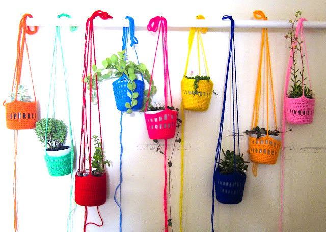 They're back: hanging plants
