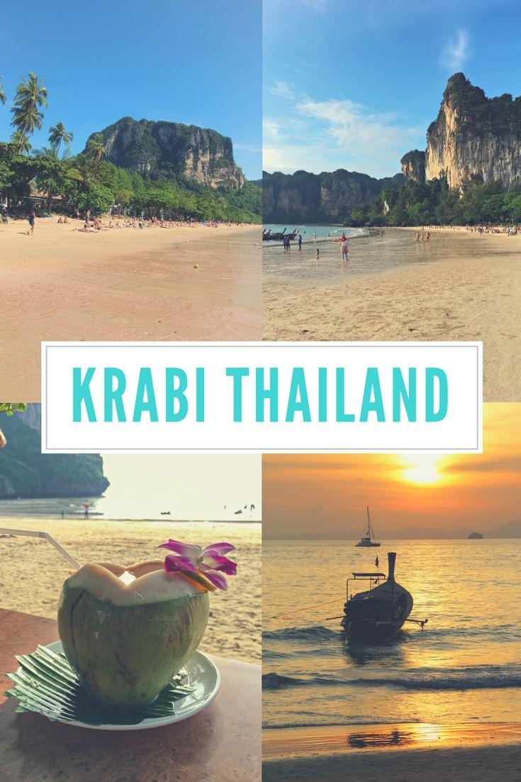 Krabi (Thailand): Ao Nang & Railay Beach Sehenswürdigkeiten, Strände & Hotel - lies mehr dazu im Reiseblog!