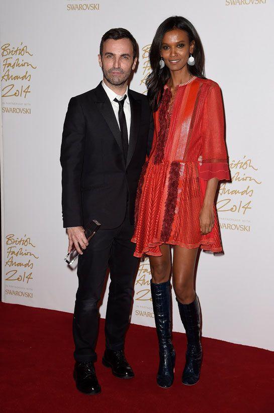 Nicolas Ghesquière, lauréat du International Designer of the Year et Liya Kebede http://www.vogue.fr/sorties/on-y-etait/diaporama/la-soiree-des-british-fashion-awards-2014/21393/image/1116604#!nicolas-ghesquiere-laureat-du-international-designer-of-the-year-et-liya-kebede