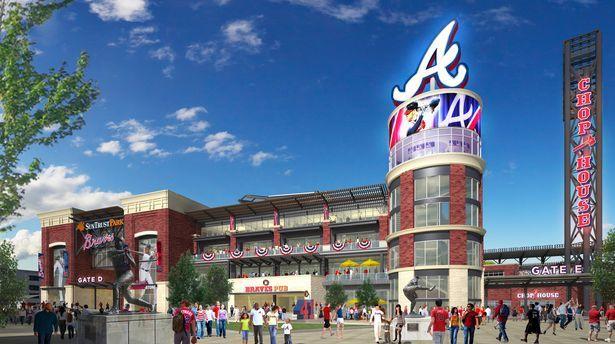 Braves stadium will be named SunTrust Park