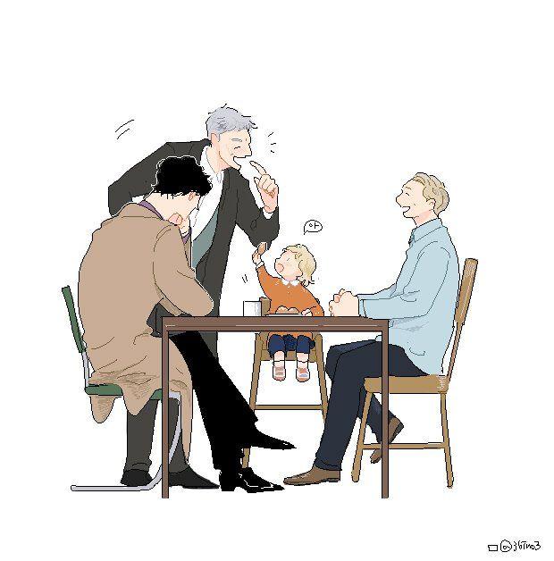 Sherlock Season 4 || Sherlock,Greg,John and Rosie