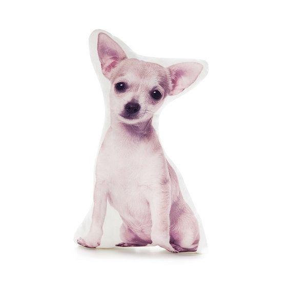 Chihuahua Dog Pillows -Chihuahua dog, dog cushion, dog pillow, pillows, cushions, girls bedroom decor, girls, nursery gift, baby shower gift, baby girl gift, dog