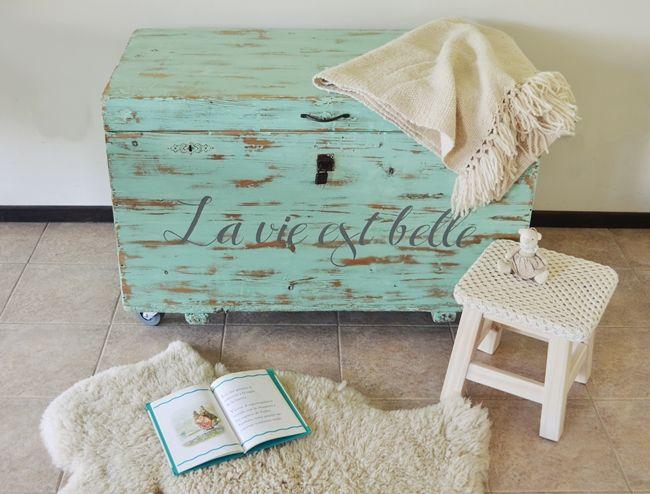 La vida es bella, formato baúl / Vero Palazzo - Home Deco