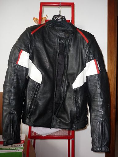 Clover Dallas leather jacket... my favourite.