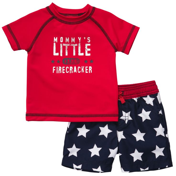2-Piece Swim Set | Baby Boy Swimwear