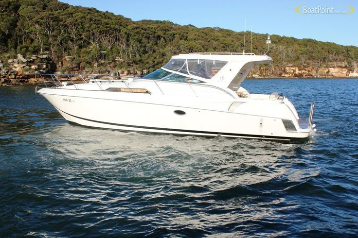 2005 RIVIERA M400 SPORTS CRUISER with twin diesels