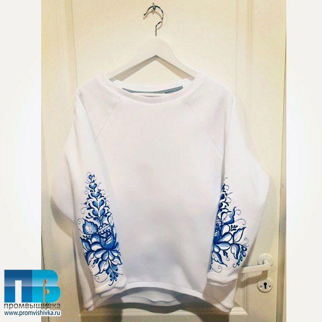 Узор для вышивки на трикотажном платье FLASHIN'