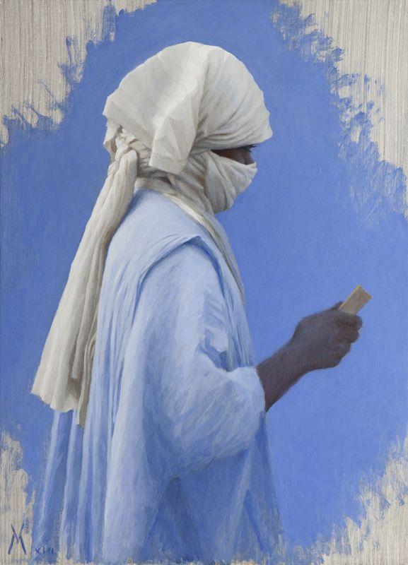 Μελέτη για άνδρα από Μάλι στο Τιμπουκτού (2013)