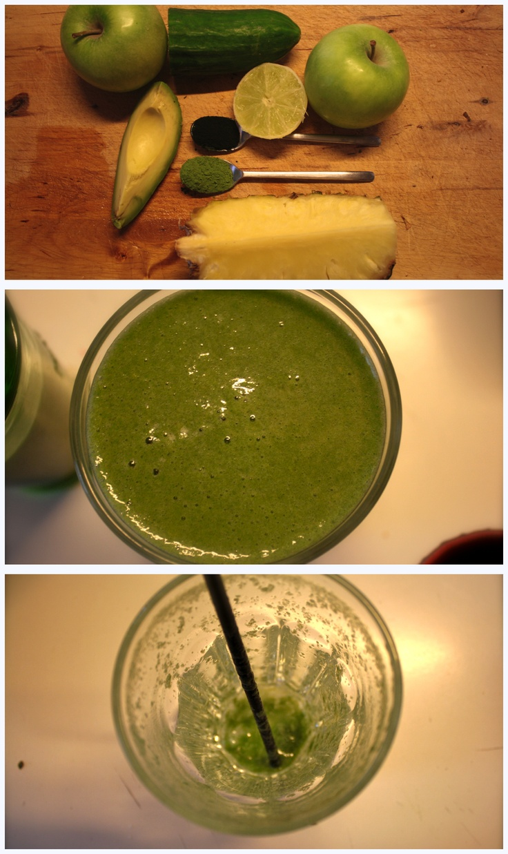 The 'Juicemasters super juice' by Jason Vale.  Delicious & healthy!