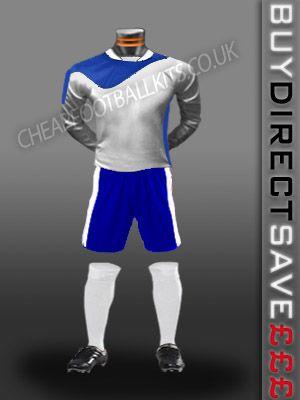 Legend Discount Football Kit White/Royal