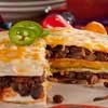 Tortilla Stack |I use corn tortillas.  Can use ground beef with or without the black beans.