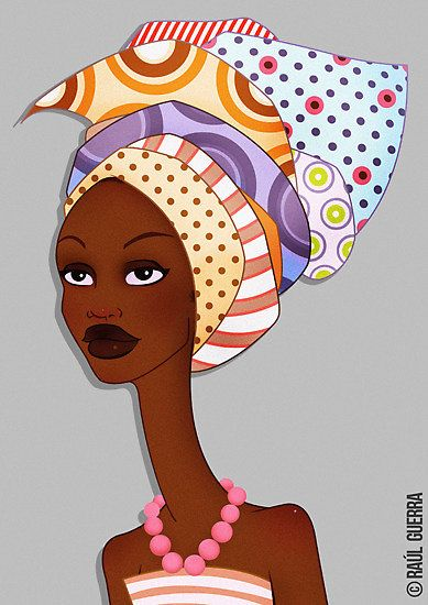 African woman series I. TULA by Raul Guerra