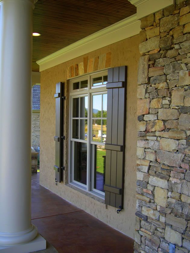 Build bahama shutters woodworking projects plans for Bahama shutter plans