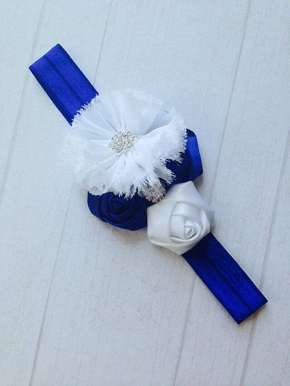 Headband ,Baby girl Headband,Newborn Headband,Christening Headband,Shabby Chic Headband, Baptism Headband, Baby Headbands. on Etsy, $3.99