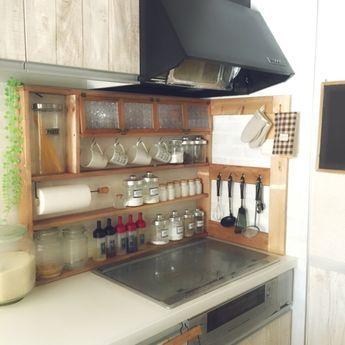 Yukoさんの、100均,DIY,手作り,スパイスラック DIY,スパイス収納,キッチン収納,セリア,ダイソー,キッチン,のお部屋写真