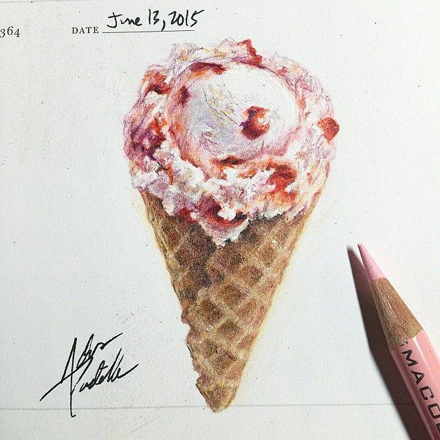 Icecreames Wallpaper On Tumblr: 1232 Best Ideas About Ice Cream Illustrations On Pinterest
