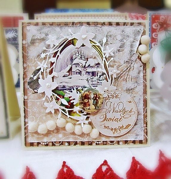 Snowy Christmass Card