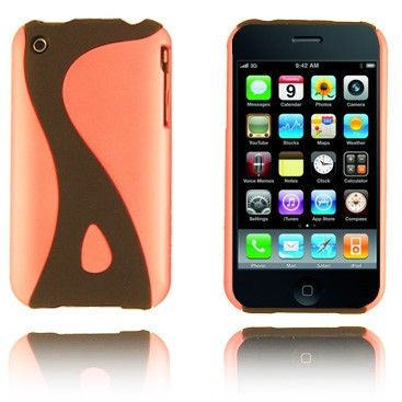 Dublin (Lys Pink) iPhone Cover til 3G/3GS Lux-case.dk