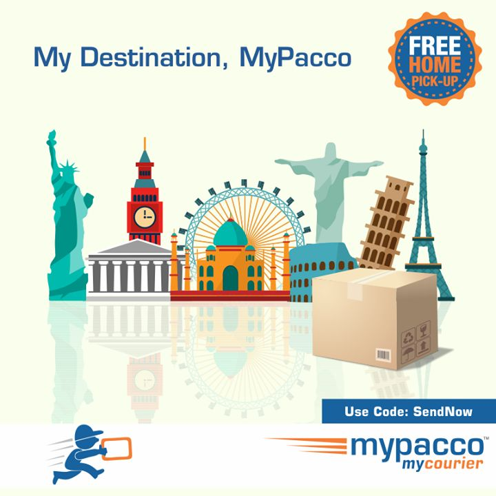 Send #courier to your #lovedone #mypacco