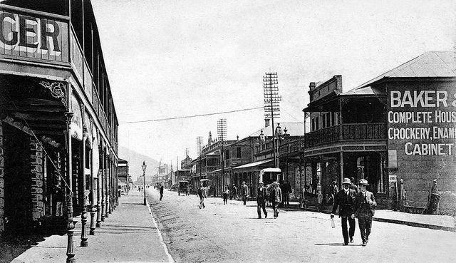 Albert Road, Woodstock, Cape Town 1898 | Flickr - Photo Sharing!