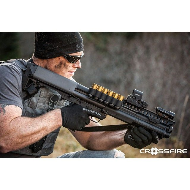 """@mesatactical upgraded ksg. Image by @xfirepix #xfirepix #stevecoulston #ksg…"