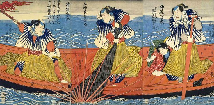 歌川豊国(3代目): 推古天皇三十六年戊子三月十八日・三社権現由来