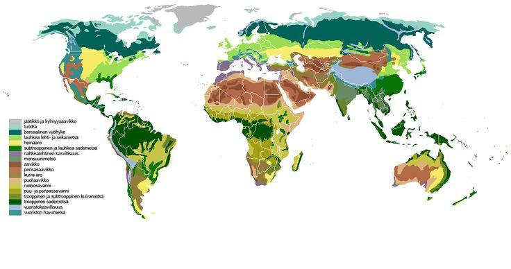 euroopan kasvillisuuskartta - Google-haku
