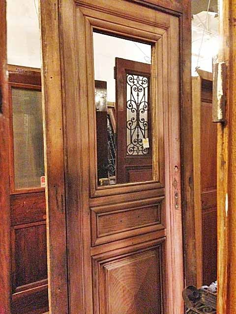 French Oak Solid wood doors sale at Pittet Architecturals. French oak door  with opening casement window. - 58 Best Antique Entry And Interior Doors Images On Pinterest