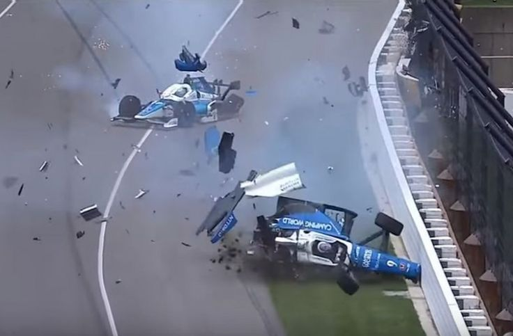 Τρομακτικό ατύχημα σε αγώνες Formula! Εξφενδονίστηκε στον αέρα το μονοθέσιο (βίντεο)