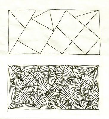 Paradox is an official Zentangle by Rick Thomas, Zentangle Founder.  Illustrated by Margaret Bremmer CZT with an EXCELLENT Paradox tutorial and then some that shows how far you can push the paradox with variations!