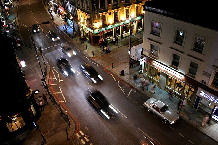 Earl's Court at Night