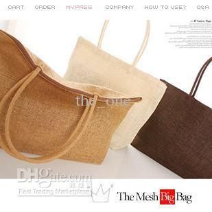 nouvelle arrivée de la mode à bandoulière femme sac de paille sac de la canne à sac de loisirs, ventes directes d'usine