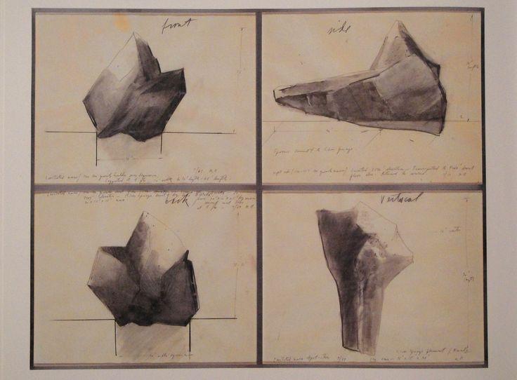 Levitated mass drawings