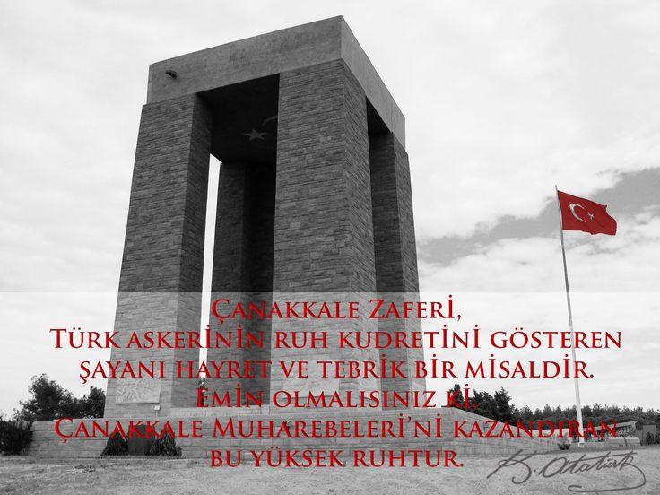 Öncelikle Çanakkale Şehitlerine ve tüm şehitlerimize saygı ve minnetlerimi sunarım. #18Mart1915 #Tam100YılÖnce