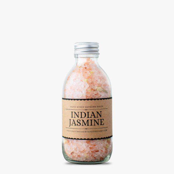 Bath salt with indian jasmine #bath #jasmine #relax #hnstly #ravenscourt