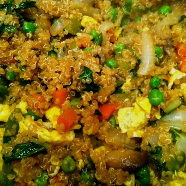 Quinoa fried 'rice' uuumazing!! | Dinner | Pinterest